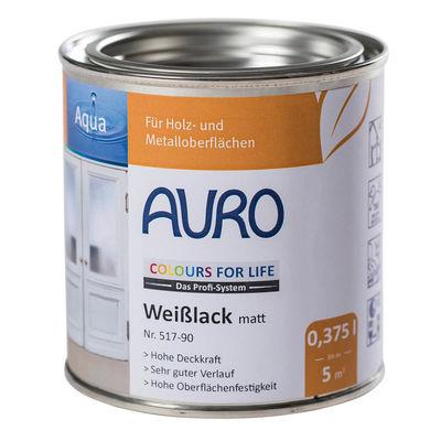 COLOURS FOR LIFE Weißlack matt Nr. 517-90 CFL Weißlack matt Nr. 517-90, 0,375 Liter