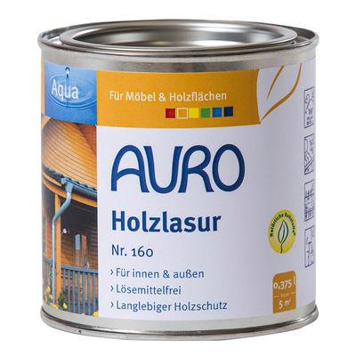 Holzlasur Aqua Nr. 160 Holzlasur Aqua Nr. 160-00, farblos, 0,375 Liter