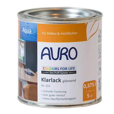COLOURS FOR LIFE Klarlack glänzend Nr. 515 CFL Klarlack glänzend Nr. 515, 0,375 Liter